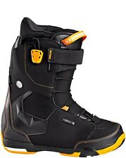 2016 NIB MENS DEELUXE EMPIRE TF SNOWBOARD BOOTS $320 11 Black / Orange gel sole