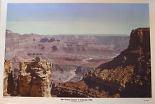 Grand Canyon Colorado USA Wilder Westen Western Arizona Schulwandtafel Geologie
