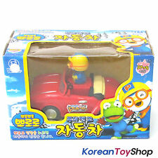 Pororo Plastic Toy Car Red Full Back Gear / Push & Go Version / KoreanToyShop