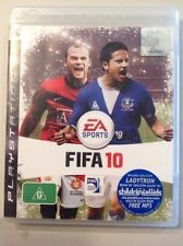 Fifa 10 2010 PlayStation 3 PS3 Game + Booklet