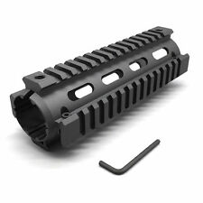 "Length 6.7"" Drop In Handguard Picatinny Quad Rail 4 Rail 6.7 Inch Carbine Black"