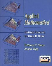 Applied Mathematica: Getting Started, Getting It Done-ExLibrary