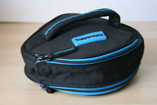 "Tupperware Insulated Round Lunch Bag  9 "" Dia. Black New"