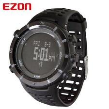 EZON Black Outdoor Sports Watch WR Altimeter Barometer Thermometer Compass E1D8