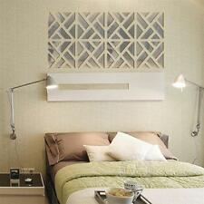 3D Mirror Wall Paper DIY Living Room Creative Wall Sticker Home Decoration