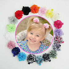 20pcs Kids Baby Girls Infant Toddler Flower Hair Bow Clips Accessories Hairpins
