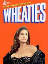 Wheaties # 12 - 8 x 10 Tee Shirt Iron On Transfer Caitlyn Jenner cereal box