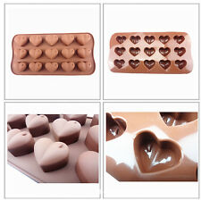Heart Silicone Romantic Wedding Chocolate Mould Cake Baking Valentine's Day Gift