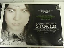 Stoker Nicole Kidman Mia Wasikowska Original Film Movie Poster Quad 76x102cm