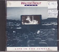Walter Trout Band-Life In The Jungle cd album +Ticket