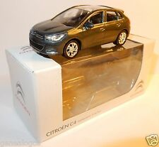 NEW NOREV 3 INCHES 1/54 CITROEN C4 GRIS BLEUTE METAL in BOX
