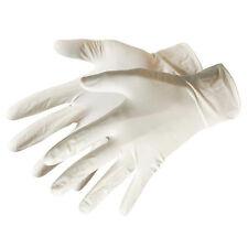 Qté grand 100 L Latex Jetable gants- Légèrement Poudrés - Nettoyage