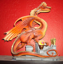 Franklin Mint Smaug the Golden Dragon The Hobbit Lord of the Rings
