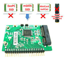 SINTECH mSATA SSD to 44pin IDE adapter as 1.8 toshiba HDD for IBM laptop