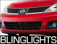 Blue LED Fog Lamps Lights for 2007-2011 Nissan Versa st 1.8S st 07 08 09
