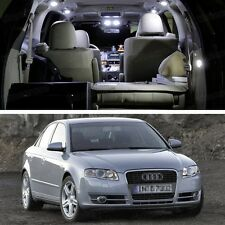 Error Free LED White Light Interior Bulbs Package Deal for Audi A4 2004-2007 B7