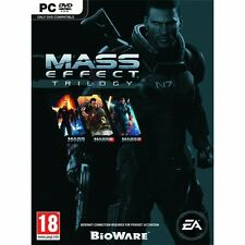 Mass Effect Trilogy Compilation Game PC Brand New