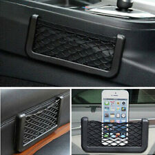 Car Storage Resilient Net String Bag Mobile Phone Coins Organizer Pocket Holder