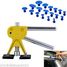 Car Body Dent Lifter Puller Tabs Paintless Dent Repair Hail Removal PDR Tool Kit