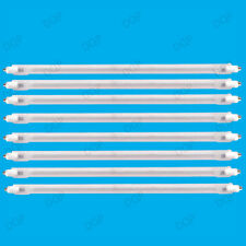8x 400W Halogen Heater Replacement Tubes 242mm Fire Bar Heater Lamp Element Bulb