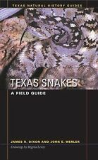 Texas Snakes: A Field Guide (Texas Natural History Guides)-ExLibrary
