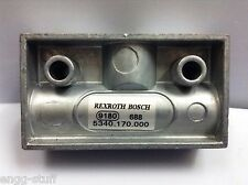 REXROTH / BOSCH / WABCO 534.017.000.0  SHUTTLE VALVE FOR OIL AND AIR, M14X1.5