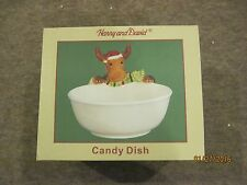 Harry and David, Mr. Moose Collection Candy Dish, 100% new in box, never used