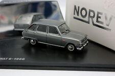 Norev 1/43 - Renault 6 1968 Grise