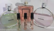 3 of 5ml women CHANEL - EAU DE TENDRE,  COCO MADEMOISELLE, CHANCE EAU FRAICHE