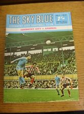 15/12/1968 Coventry City v Arsenal  (Light Crease, Rusty Staples).  We are pleas