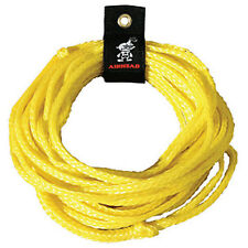 AIRHEAD 50' Single 1 One Rider Tube Tow Rope Yellow AHTR-50 NEW Sportsstuff