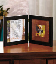 Memorial Remembrance The Day God Took You Home Poem Hinged Photo Frame NEW