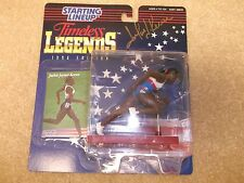 Autographed 1996 Track Star Legend Jackie Joyner Kersee Starting Lineup