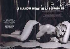 COUPURE DE PRESSE CLIPPING 2007 Julie Gayet   (4 pages)