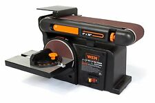 WEN 6502 4 x 36-Inch Belt with 6-Inch Disc Sander