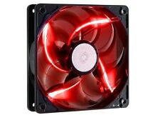 Cooler Master SickleFlow X 120mm x 25mm Fan (3-Pin, 4th Gen POM, Red LED)