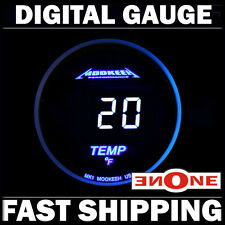 MK1 52mm Digital LED Electronic Oil Temp Temperature Fahrenheit Gauge