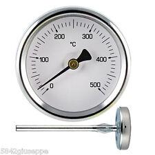 TERMOMETRO FORNO A LEGNA 0°C + 500°C SONDA DA 60cm TERMOMETRO FORNO *