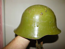 Originaler alter Stahlhelm, Bulgarien, 2.WK