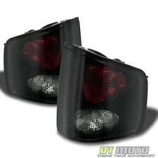 Black Smoke 1994-2004 Chevy S10 GMC  Sonoma Tail Lights Brake Lamps Left+Right