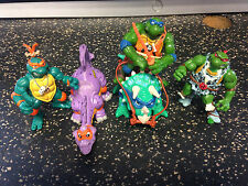 TMNT Teenage Mutant Ninja Turtles Vintage Caveman/Dinosaur Figure Lot