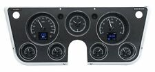 1967-1972 Chevy Truck C10 GMC Dakota Digital Black HDX Gauge Kit