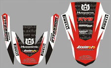 Kit Husqvarna P. C. TE - WR  2011 - crystal/adesivi/adhesives/stickers/decal