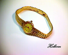 14ct 14k Gold, Ladies Vintage Geneve Swiss Watch, 6 Jewel Movement. 22.4g. 7""