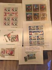 Lot of 6 Princess Diana Stamps International Collectors Her Life In Stamp