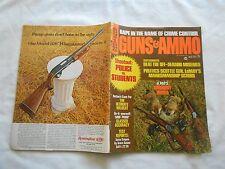 GUNS & AMMO MAGAZINE-JULY,1971