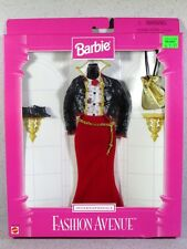 NIB BARBIE DOLL FASHION AVENUE 1997 INTERNATIONALE #2 CLOTHING