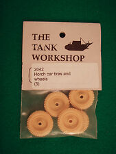 Tank Workshop 1/35 Resin WWII Horch Car Tires and Wheels (5)