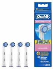 Oral-B Sensitive Clean Electric Toothbrush Replacement Heads Pack of 4 BNIP