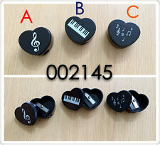 音樂圖案心型鉛筆刨 Music keyboard, treble clef or music notes pattern small pecnil shaper  (piano violin 音符 文具 stationery gift musician classical )